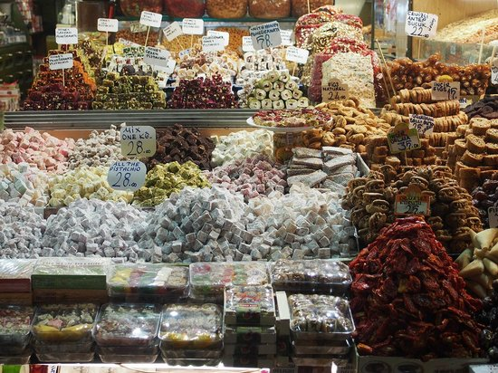 Historic Areas of Istanbul: Bazar Egyptien