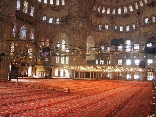 Historic Areas of Istanbul: Mosquée Bleue