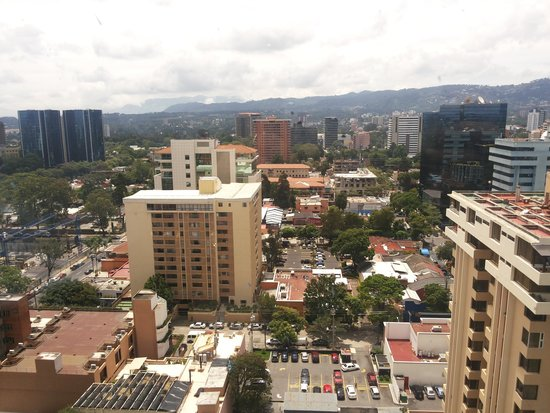 Radisson Hotel & Suites Guatemala City: VISTA MARAVILHOSA