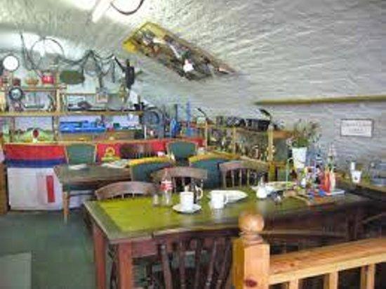 Ship-Shape: Inside the Cafe and Chandlery
