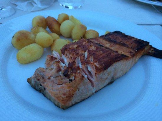 Visconti Palace: Norweigan Salmon