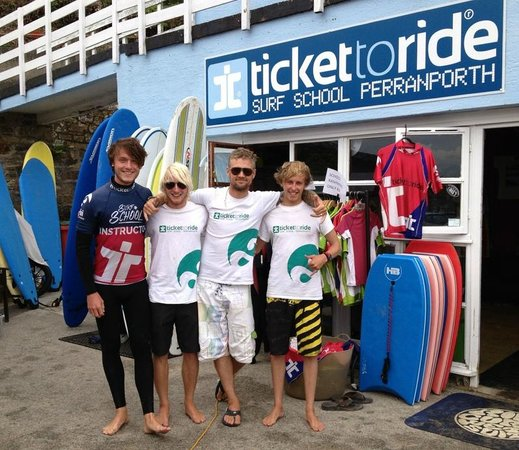 Ticket to Ride Surf School: Cool dudes - grea surf experience