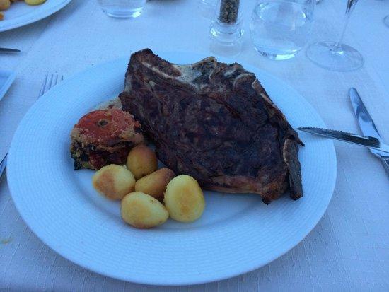 Le Meridien Visconti Rome : Grilled steak