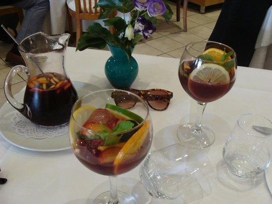 Restaurante Navarro: sangria