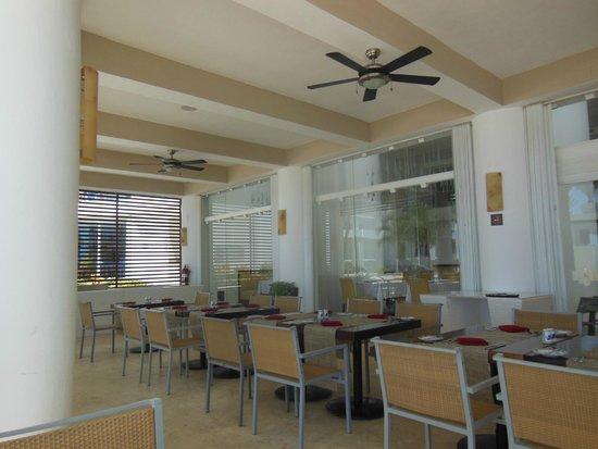 Playacar Palace: por la mañana el comedor