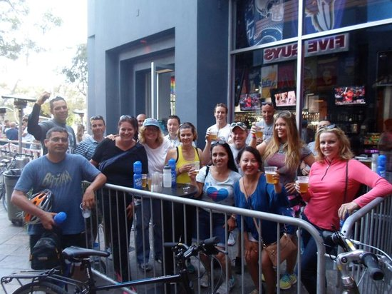 Bikes And Hikes LA: A beer for all!