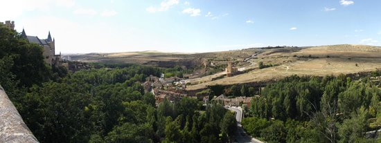 Alcázar: Panorama nord-oeste de Torre Juan 2°
