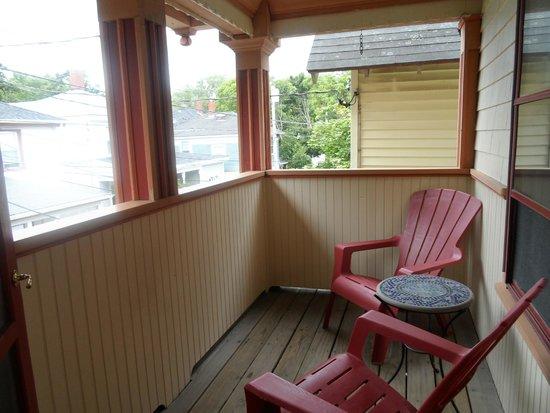 Black Friar Inn and Pub: balcony