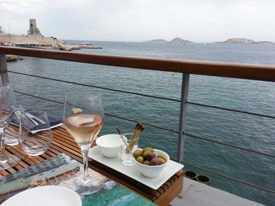 Restaurant Peron : Accueil et apéritif très agréables avec un panorama exceptionnel.