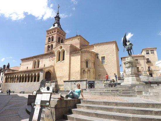 Alcázar: Iglesia de S.Martin en Segovia