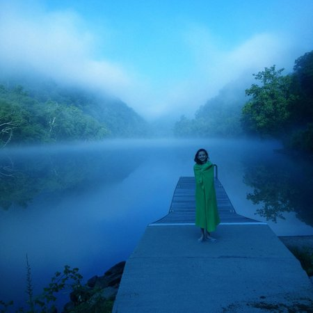 Fontana Village Resort: Morning on the Little Tennessee River