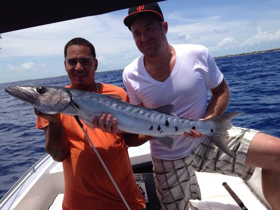 """Seakarus Tours: I graduated from """"bait fishing"""" to """"dinner fishing"""" to """"sport fishing.""""  Thanks Manny and Cliff!"""
