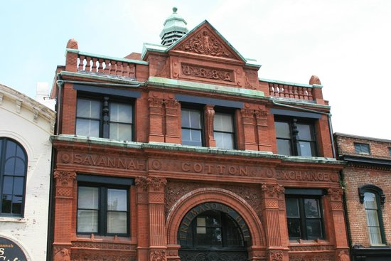 Savannah Historic District : Savannah Cotton Exchange 100 East Bay St