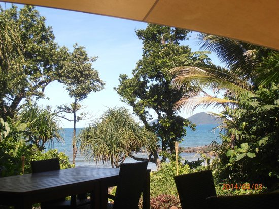 Eco Village Resort Mission Beach : view from the restaurant