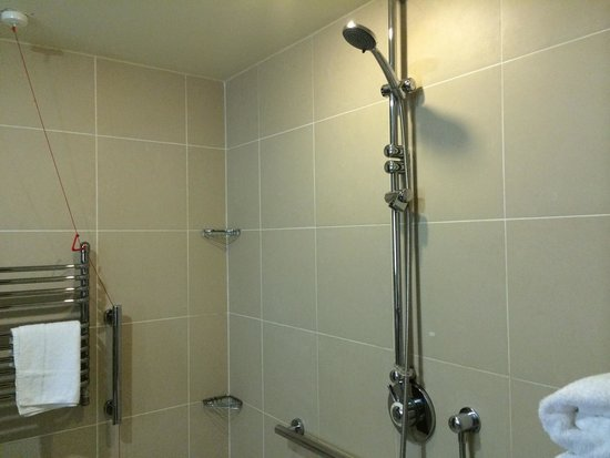 Dunston Hall : Shower dripped but good pressure