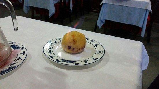 Restaurante Chines Fu Hao: Gelado frito c/rum