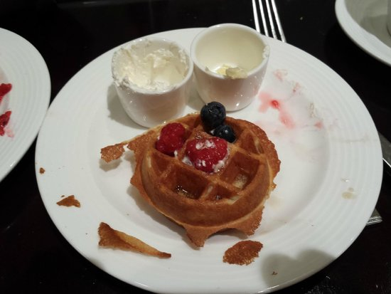 Hyatt Regency Morristown: the best waffles EVER!