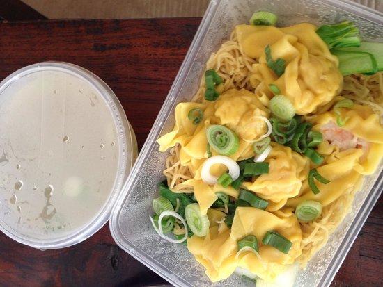 Hung Tao: wonton noodles