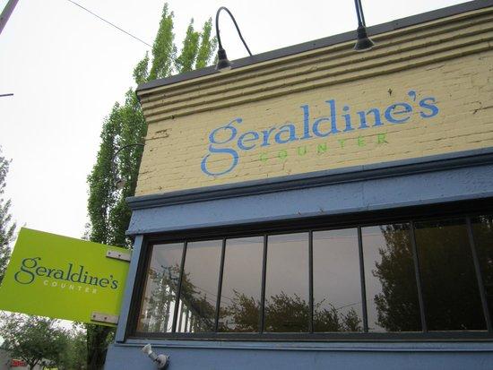 Geraldine's Counter: Great spot for breakfast!