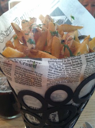 Latitude 42 Brewing Co.: truffle fries