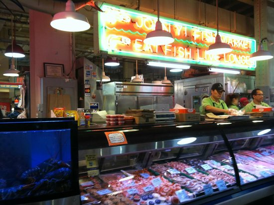 Reading Terminal Market: Fish