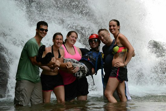 Pro Rafting Costa Rica: We almost took him home.