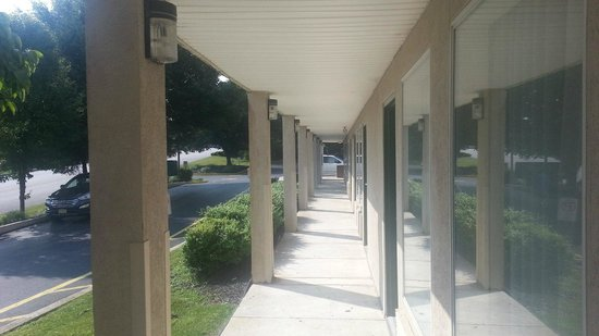 Capital Inn New Cumberland - Harrisburg South: Slight incline.
