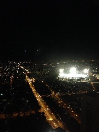 Sofitel Melbourne on Collins: view of MCG from 44th floor