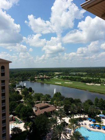 The Ritz-Carlton Orlando, Grande Lakes: From the 14th floor...