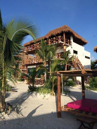 Villas Flamingos: Main Building