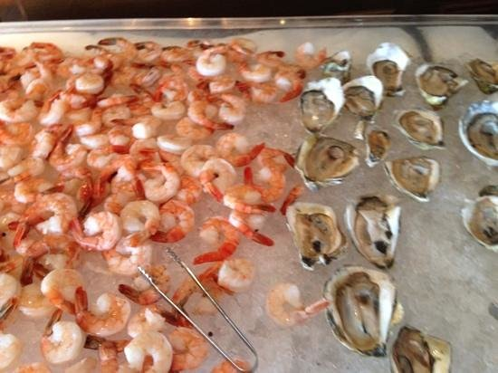The Wharf: raw bar