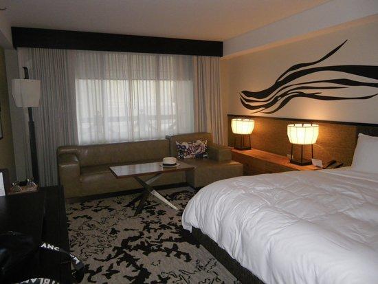 Caesars Palace: chambre deluxe hotel NOBU du Caesar Palace