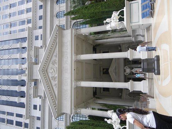 Caesars Palace : Une des facades Caesar Palace
