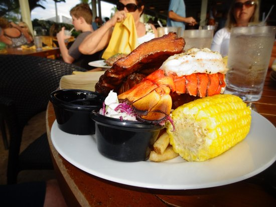 Lava Lava Beach Club: Dinner