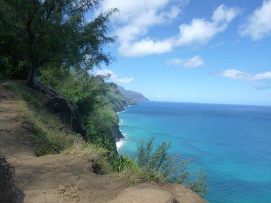 Kalalau Trail: Na Pali coast view
