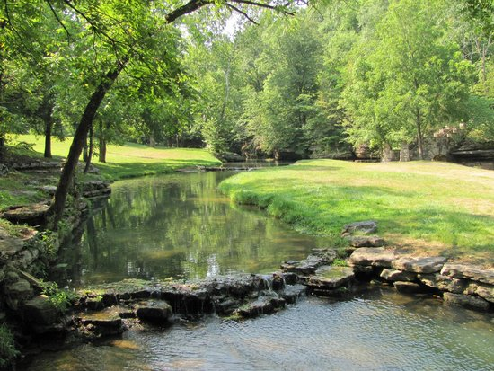 Dogwood Canyon Nature Park: One of the streams