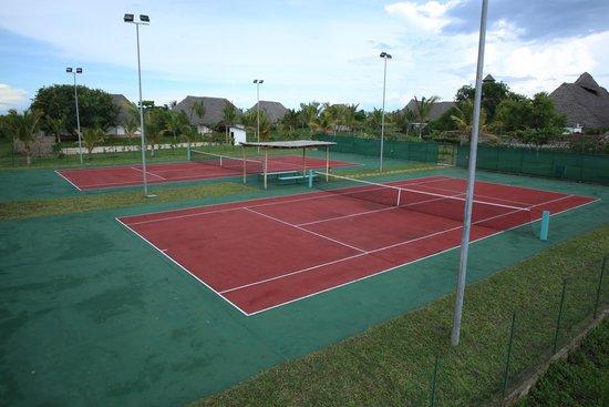 Dongwe Club: il tennis