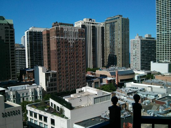 Waldorf Astoria Chicago: View from room