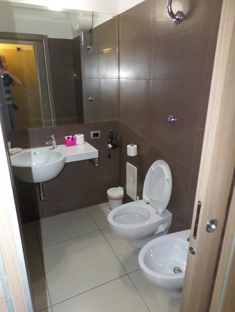 Residence Europa: WC spacieuse