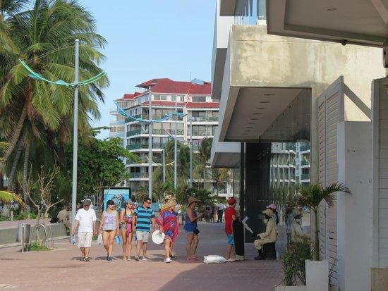 Hotel Blue Tone: Zona peatonal