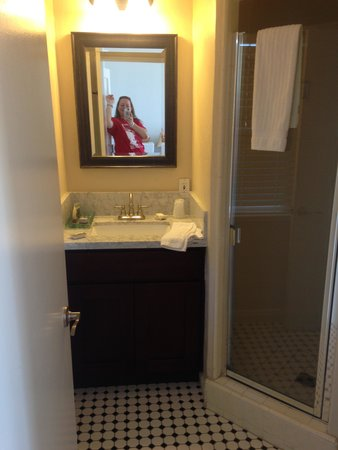 Seaside Laguna Inn & Suites : bathroom in 202