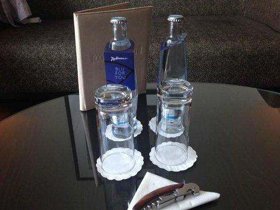 Radisson Blu Alcron Hotel, Prague : free water