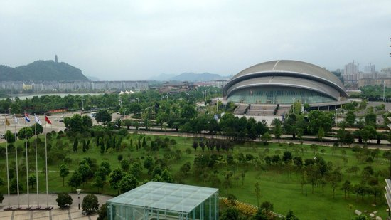 Overseas Chinese Hotel: View from room