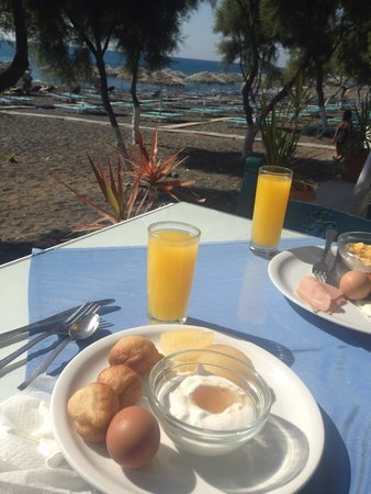 Okeanis Beach Hotel : Our breakfast