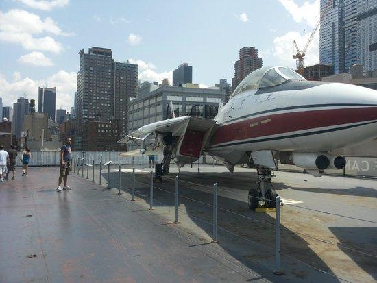 Intrepid Sea, Air & Space Museum: sul ponte