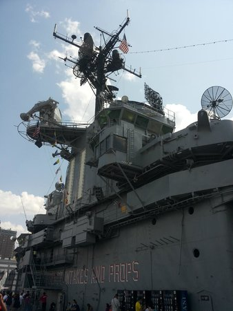 Intrepid Sea, Air & Space Museum: la torre di controllo