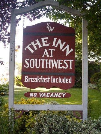 The Inn at Southwest: Inn signage