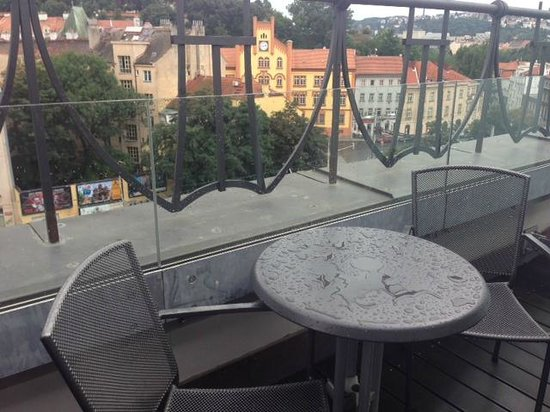 Park Inn Hotel Prague: balcony