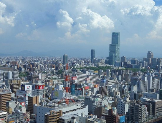 Swissotel Nankai Osaka : Day View