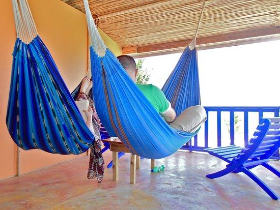 Tipple Tree Beya: Hammacas on private balcony